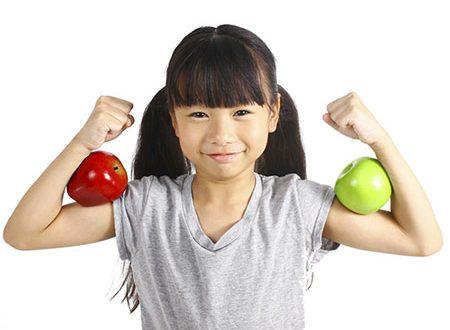 برنامه غذایی برای کودکان لاغر
