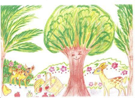 داستان کوتاه با نقاشی ساده,داستان نویسی کودکان